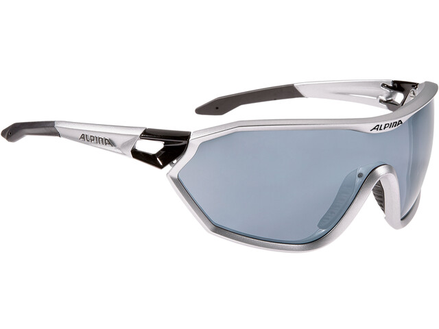 Alpina S-Way CM+ Glasses silver matt-black
